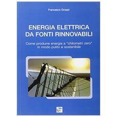 Energia elettrica da fonti rinnovabili. Come produrre energia a chilometri zero in modo pulito e sostenibile
