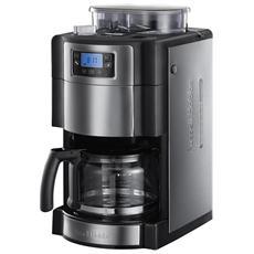 Macchina del Caffè Con Caraffa in Vetro 20060-56 Grind & Brew 9 impostazioni di macinatura 1,25 Litri