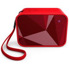 Speaker Audio Portatile BT110 Impermeabile Bluetooth USB colore Rosso