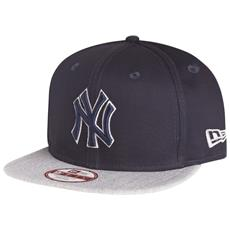 Cappellino Tonal Infill Ny Yankees S-m Blu Grigio