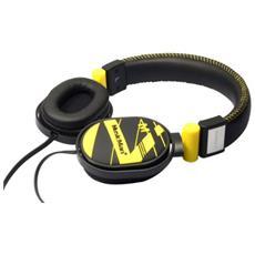 Musicman BassStyle Stereo, Circumaurale, Padiglione auricolare, 100 mW, Cablato, 1,5m, Oro