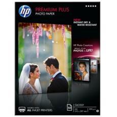 Carta fotografica lucida HP Premium Plus - 50 fogli / A4/210 x 297 mm
