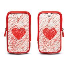 Doodle Zigly Case Sweet Heart Xl