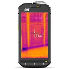 """S60 Nero 32 GB 4G / LTE Dual Sim Impermeabile Display 4.7"""" HD Slot Micro SD Fotocamera 13 Mpx Android Italia"""