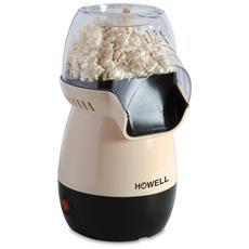 HOWELL - HPC516 Macchina per Pop Corn Potenza 1150 Watt