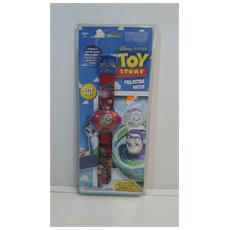 Disney Pixar - Orologio Da Polso Toy Story Buzz Lightyear - Pile Non Incluse
