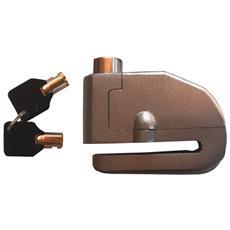 Lucchetto bloccadischi sonoro per moto di media e grossa cilindrata
