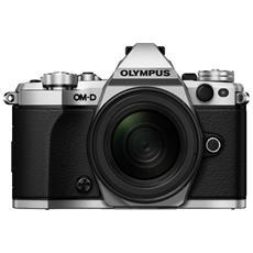 OLYMPUS - E-M5 Mark II Silver Sensore Live MOS Risoluzione...