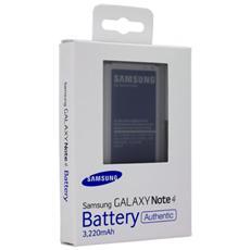 Batteria Originale Ricambio Eb-bn910bbe 3220 Mah Samsung Galaxy Note 4 N910 Blister Pack