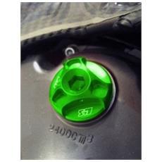 Tappo Olio Modello Hexagon Verde