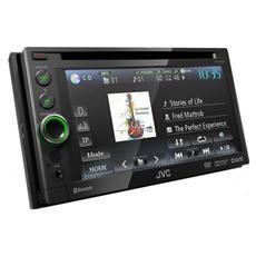 "Sintomonitor DVD KW-AV61BTE Display 6.1"" MP3 / WMA / WAV Potenza 4 x 50 Watt Bluetooth porta USB controllo iPod / iPhone"