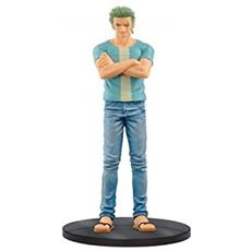 Figure One Piece Zoro Jeans - Blue