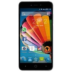 "PhonePad Duo G515 Argento 8 GB Dual Sim Display 5"" HD Slot Micro SD Fotocamera 5 Mpx Android Italia"