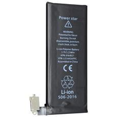 Batteria Di Ricambio Per Apple Iphone 4 4g 1420mah + Kit Attrezzi Smontaggio Cacciavite
