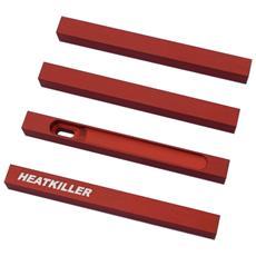 Accessori per PC in Alluminio da 100 mm Colore Rosso