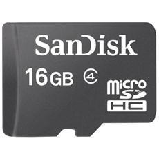 MicroSDHC da 16 GB Class 4