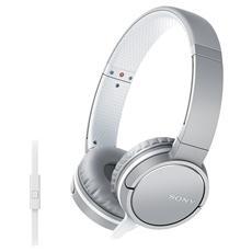 MDR-ZX660AP Cuffia On-Ear Microfono colore Bianco