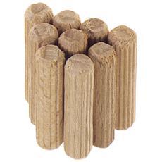 Tasselli in legno mm. 6x30 Pz. 100