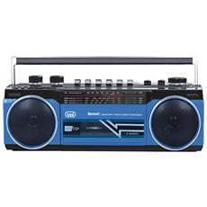 Radio Registratore Bluetooth Trevi Rr 501 Bt Blu