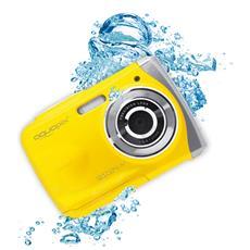 Fotocamera Impermeabile 10 Megapixel Colore Giallo