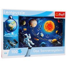 Puzzle Didattico Sistema Solare 100 Pezzi Legler