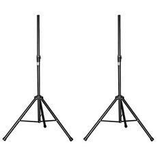 Una Coppia Di Speaker Stand + Coprire Ibiza Ss-01b