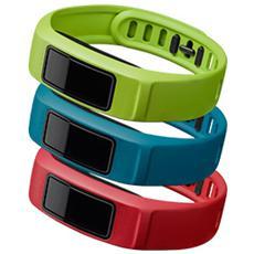 010-12336-12 Cinturini di ricambio VivoFit 2 Verde / Rosso / Blu - Small