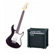 Kit Chitarra EG-112C + Amplificatore GA15 15 Watt colore Bianco / Nero