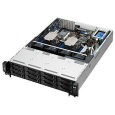 BAREBONE SERVER ASUS 2U RS520-E8-RS8 V2 2xXeon LGA2011-3 V3 16DDR4 ECC2133 Max1024Gb 9SATA3 Raid 0,1,5,10 DVD±RW 2GLAN 1+1 770W