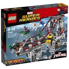 76057 Spider-Man: la Battaglia sul Ponte dei Web Warriors