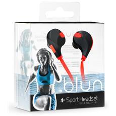Auricolari Sportivi Bluetooth Universali Nfc - Qy7 Nero-rossi
