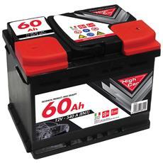 60ah - Batteria Auto 540en - Per Abbacchiatore Elettrico Olix Raccolta Olive