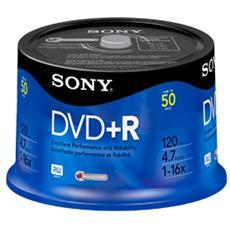 DVD+R 16x, 50, DVD+R, Fuso