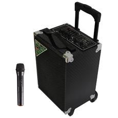 TS-74 BT USB SD AX 2.1 portable speaker system 100W Rettangolo Nero
