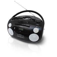 Radio Lettore CD compatibile MP3 colore Nero