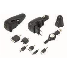 PRCT3/1 Caricatore Batteria Per Cellulari 3 In 1