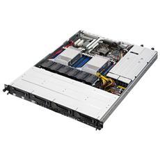 BAREBONE SERVER ASUS 1U RS500-E8-RS4 V2 2xXeon LGA2011-3 V3 16DDR4 ECC2133 Max1024Gb 9SATA3 Raid 0,1,5,10 DVD±RW 2GLAN 1+1 770W