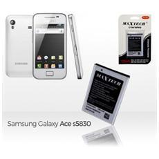 Batteria Compatibile Samsung Galaxy Ace E Successivi Maxtech Li-ion Battery 1350mah T012