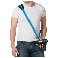 Cinghia per Fotocamere Carrysafe 150 GII Colore Blu