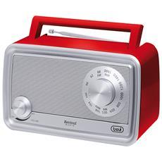 Radio Portatile Revival Trevi Ra 770 V Rosso