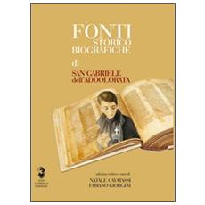 Fonti storico-biografiche di san Gabriele dell'Addolorata