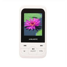 Lettore MP4 SDA-8071 8GB con Sintonizzatore FM Display 1.8' colore Bianco