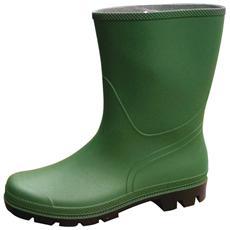 Stivali da lavoro in Pvc colore verde N 39