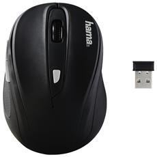 Mouse Wireless AM8200 Ottico 1600 dpi Nero