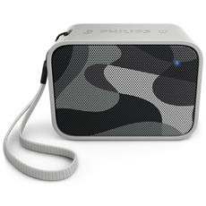 Speaker Audio Portatile BT110 Impermeabile Bluetooth USB colore Militare