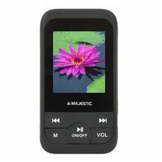 Lettore MP4 SDA-8071 8GB con Sintonizzatore FM Display 1.8' colore Nero