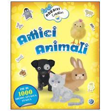 Amici animali. Adesivi creativi