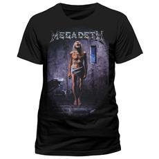 Megadeth - Countdown (T-Shirt Unisex Tg. L)