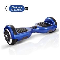 Smart Balance Wheel Monopattino Elettrico Scooter Elettrico 2 Ruote Hoverboard Blu