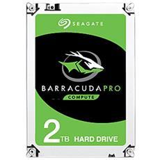 SEAGATE - Hard Disk Interno BarraCuda Pro 2 TB 3.5